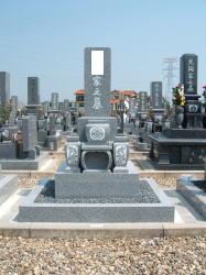 市営墓地水垂れ完成図
