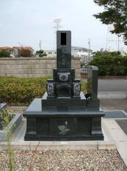 納骨堂付き墓石
